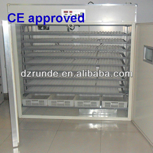 CE approved commercial incubators and hatcher