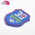 Brand soft silicone raised pvc rubber patch with hole