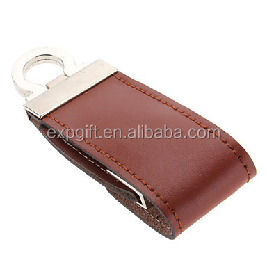 Leather USB Flash Drive / Hook USB Flash Drive / Executive USB Flash Drive