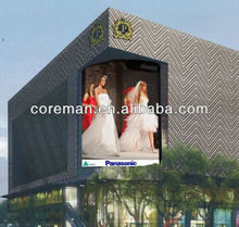 fr alibaba full color ce,Rohs p20 outdoor advertising double face led display /double sided led display