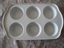 carbon steel non-stick ceramic coating 6 muffin pan