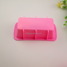 Durable silicone rectangle bread baking mold for oven