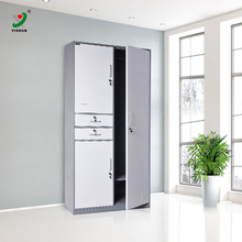 KD structure bedroom furniture cheap lockers cheap metal wardrobe