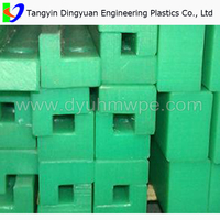 uhmwpe chain guide track rail/uhmw plastic linear guide supplier in dingyuan