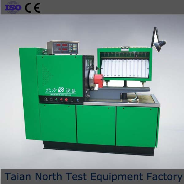Energy meter calibration test bench for diesel fuel injection pumps