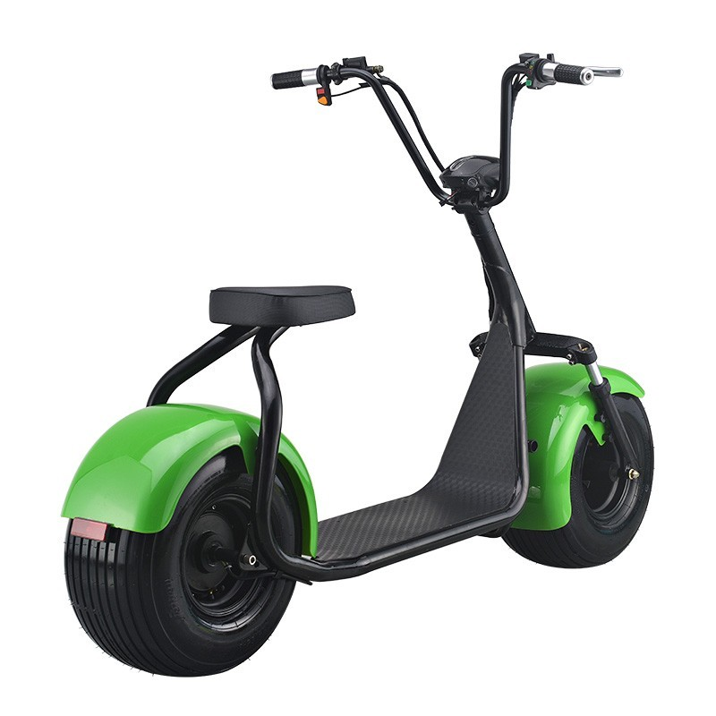 Green Transportation-Lithium Battery Electric Scooter High Power Hydraulic disc brakes Electric Autobike/Citycoco