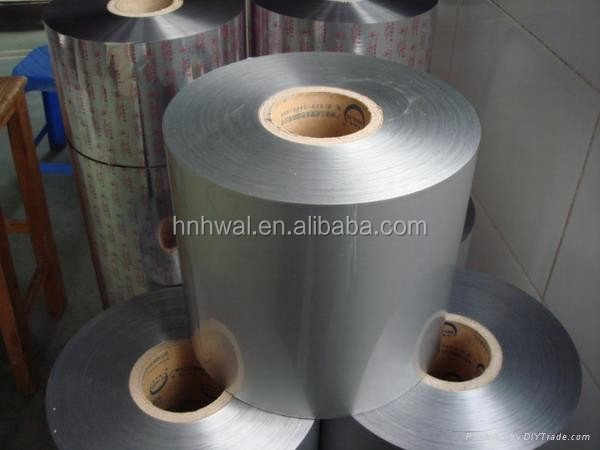 PE/PET/PP laminated aluminum foils for plastic bottles and cups packing