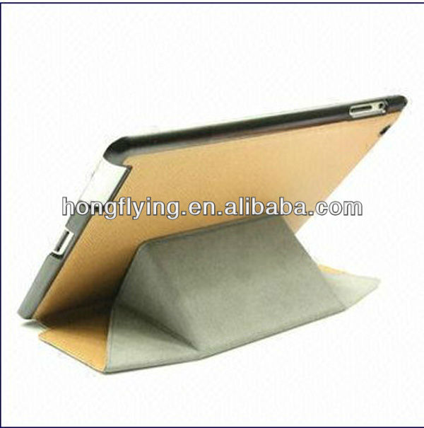 Magnetic Changeable Wake/Sleep Leather Smart Cover Case for iPad 2/3