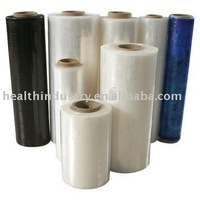 clear and black LLDPE stretch films