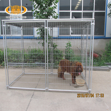 10 x 5 x 6 foot classic galvanized outdoor large iron dog kennel wholesale