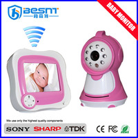 Factory direct supplying 380TVL mini wireless dome baby monitor BS-W233