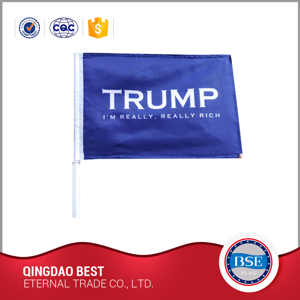 Free Sample large advertising flying flags