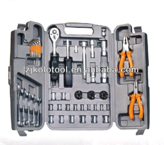 59PCS 1/4''and 1/2'' Dr Socket Wrench Set