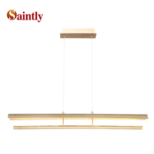 Hot selling energy saving led gold modern metal chandelier pendant light