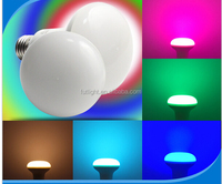 New shape 2.4g wireless wifi milight rgbw warm white millions color change dimmable rgbw 9w E27 led par light bulb