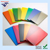 Polystyrene tinted colour plastic transparent boards