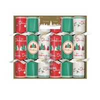"Classic Christmas Trees 6x8.5"" Mini Luxury Christmas Cracker"