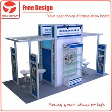 Yota trade show exhibit event display stand booth