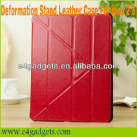Wholesale 4 Folio Folding Magnetic leather Cover Case Stand For Apple iPad 234