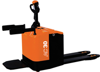 AC Motor Power Souce and Powered Pallet Truck Type Electric Forklift