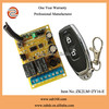 On/Off Remote Switch Learning Code, 2 channel Wireless Remote Control Relay Switch(ZK2LM+ZY16-E)