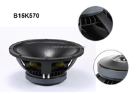 B15K570/15inch 500w high SPL pro audio speaker manufacturers in china