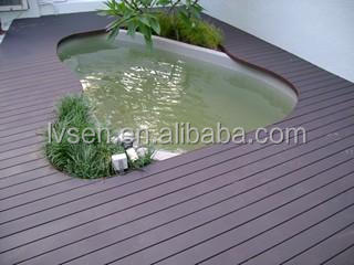 CE passed Top Quality Damp-proof wood Plastic Lumber Synthetic WPC Flooring