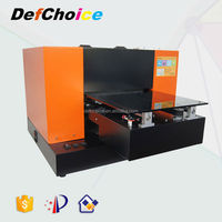 A2 R3800 MINI SMALL ECO-SOLVENT FLATBED INKJET PRINTER PRINTING MACHINE FOR WOOD/ACRYLIC/FISH LURES/PEN/SOUVENIRS/GOLF BALL