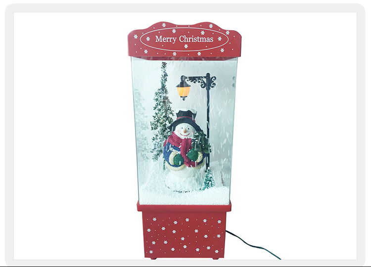 LED perfect for Christmas musical snowing features lantern gift for kids
