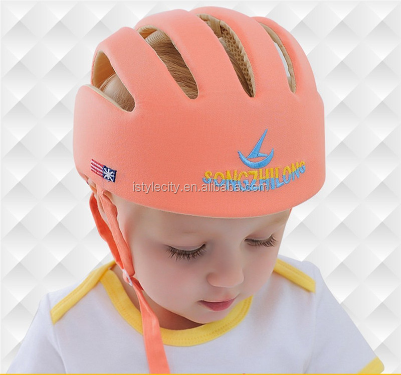 Cotton safty hat for babies infant protective helmet