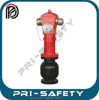 3 Way Outlet Fire Hydrant for Water System, PT15-08