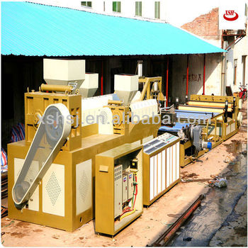 ABC three layers ldpe plastic foam sheet extruder machine