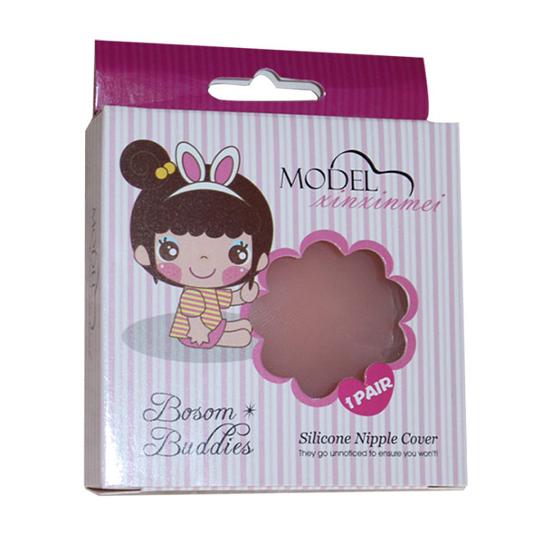 ONEFENG Silicone Nipple Pasties Cover Self-adhesive Soft Sexy for Women Breast Pad