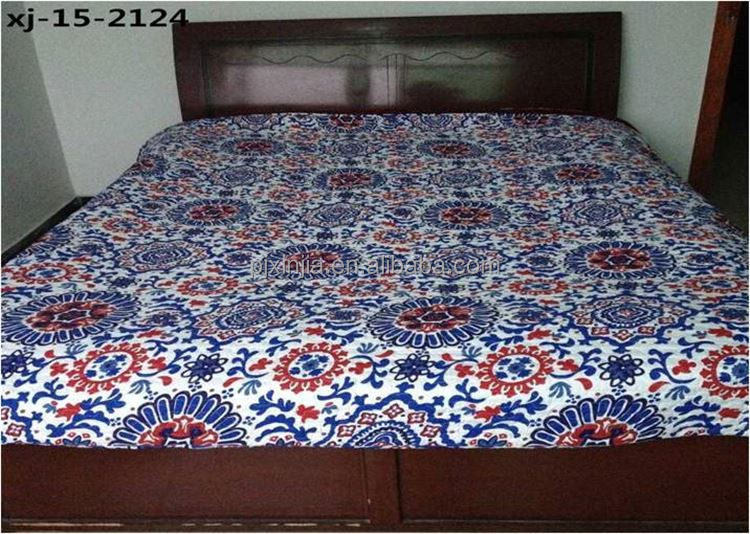 TOP sale different styles adult group bed skirt twin quilt