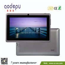 ZXS-Q88 Tablet PC 7 inch ALL WINNER A23 1.2GHz MID,Mid Tablet Pc Manual,Mini 7 inch Tablet