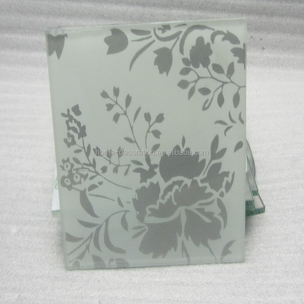 flower design glass separator pads made in China