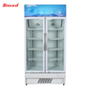 supermarket fridge convenience store beverage cooler glass door display refrigerator