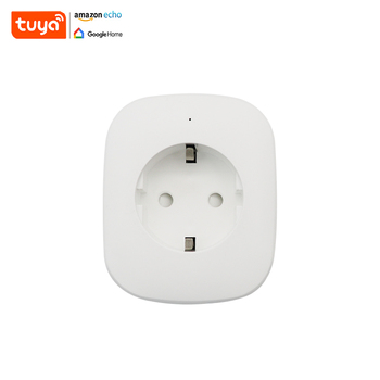 2018 Smart Home Tuya Timer EU Mobile Phone APP Wifi Smart Power Strip With Wholesale Price