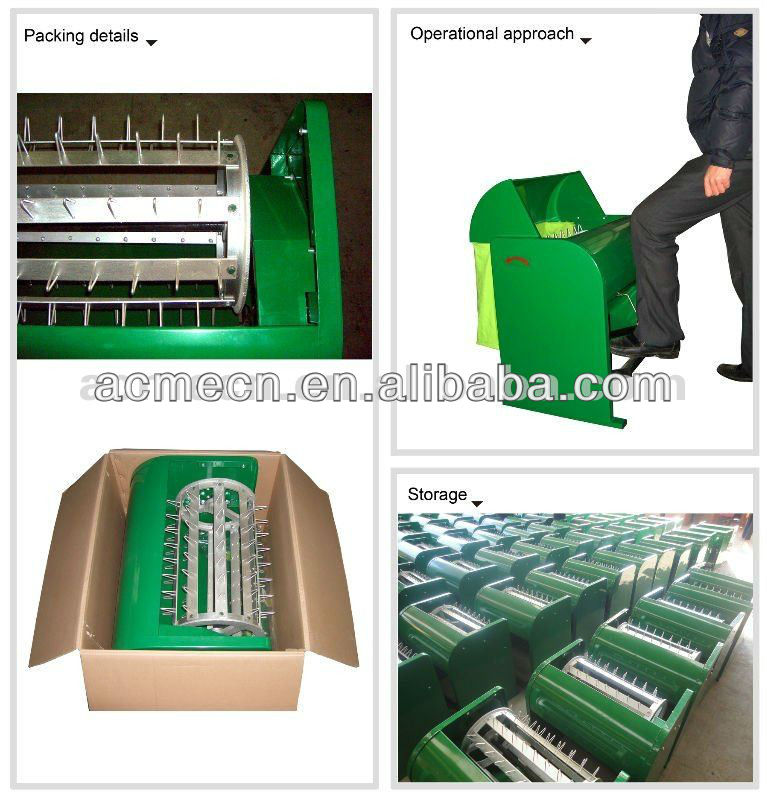 High Quality Mini Manual Rice Wheat Thresher for sale