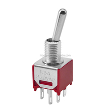 DPDT ON-ON 6Pin Momentary Toggle Switch