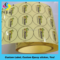 Newest Weighing Scale Label Customized Food