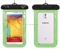 Cheap Universal high quality pvc waterproof case for mobile phone