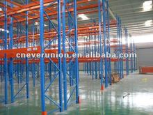 beam and frame warehouse pallet racking for storage