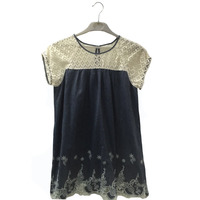 Latest Design Women Lace Summer Tops