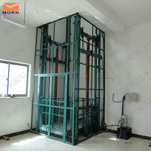 Indoor and outdoor vertical warehouse hydraulic cargo lift price