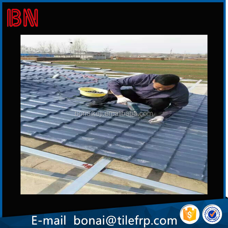 PVC roof tiles Type and ASA coated,Film lamination ,Good