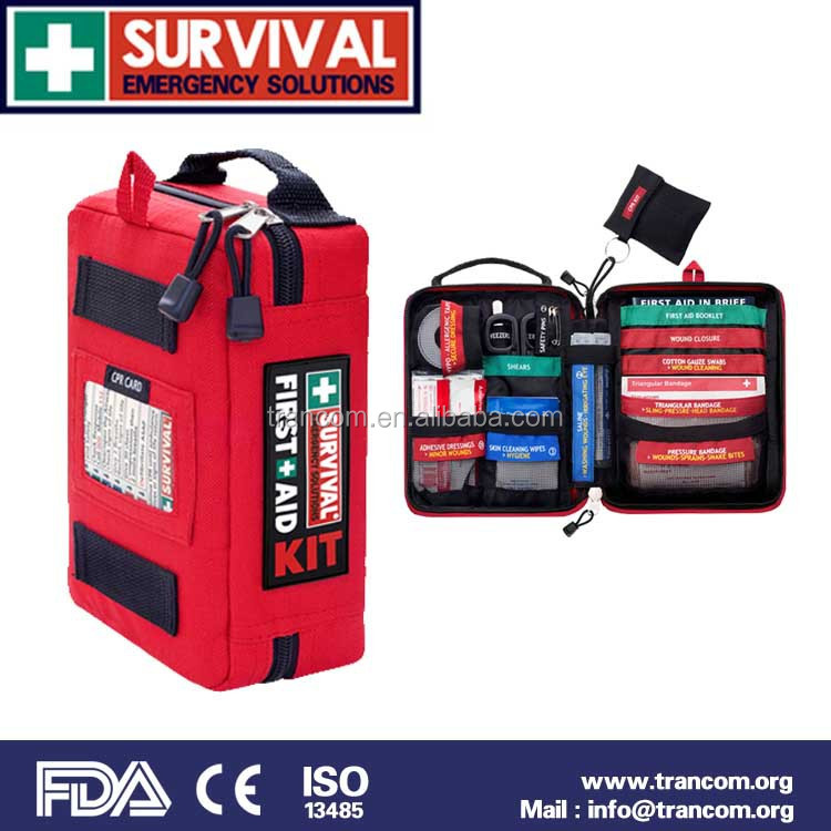 SES03 emergency kit hot sales first aid bag first aid kit fda first aid kit survival