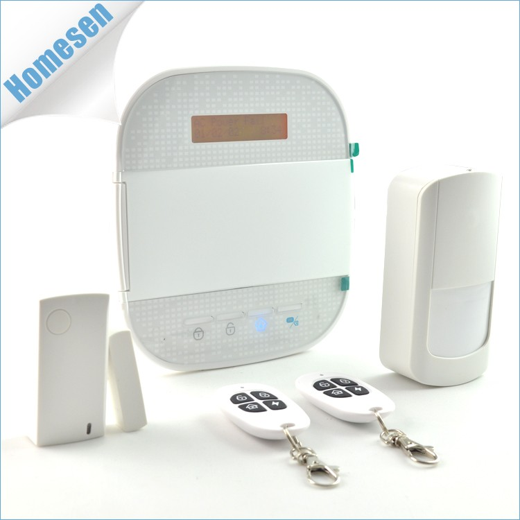 24 Wireless Zone Remote APP Control GSM/Wifi Alarm System For Home