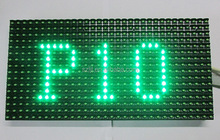 CE& RoHS approved IP65 waterproof P10 green <strong>LED</strong> scrolling text <strong>display</strong>