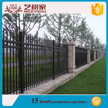 Brand new ornamental ornamental steel fence /modern iron fence